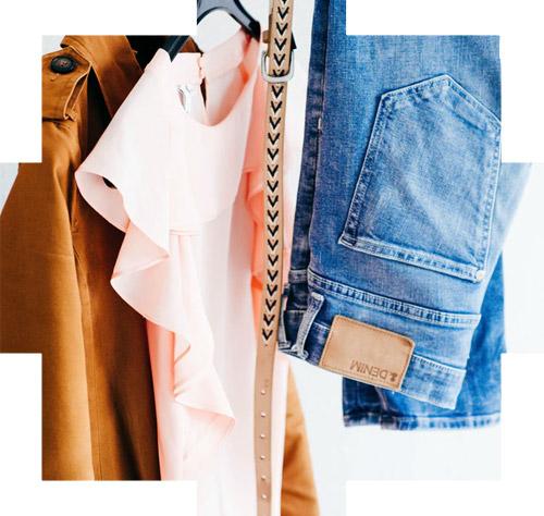 shoppen in je kledingkast